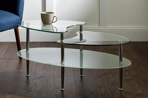 Overal Glass Coffee Table