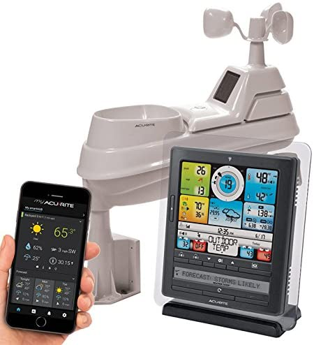 AcuRite 01036M Wireless Weather Station with Programmable Alarms