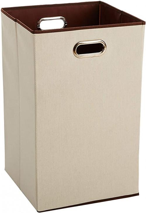 1. Amazon Basics Laundry Basket Hamper