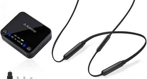 1. Avantree HT4186 Wireless Headphones