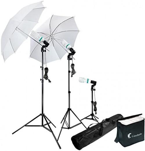 1. LimoStudio Photography Lighting Kit