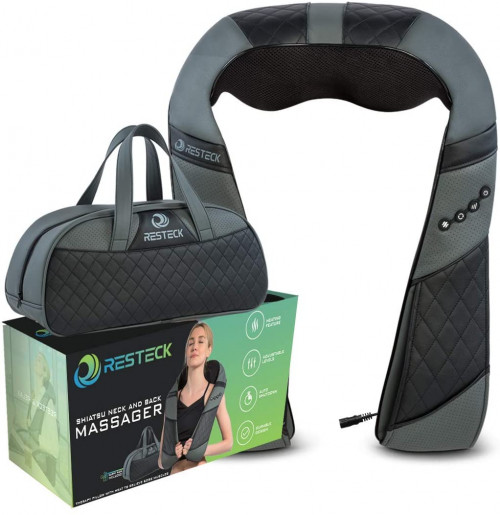 1. RESTECK- Massagers for Neck and Back with Heat