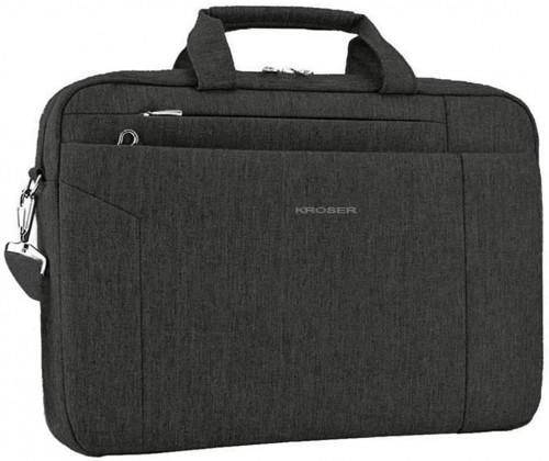 10. KROSER Laptop Bag 15.6 Inch Briefcase Shoulder Messenger Bag