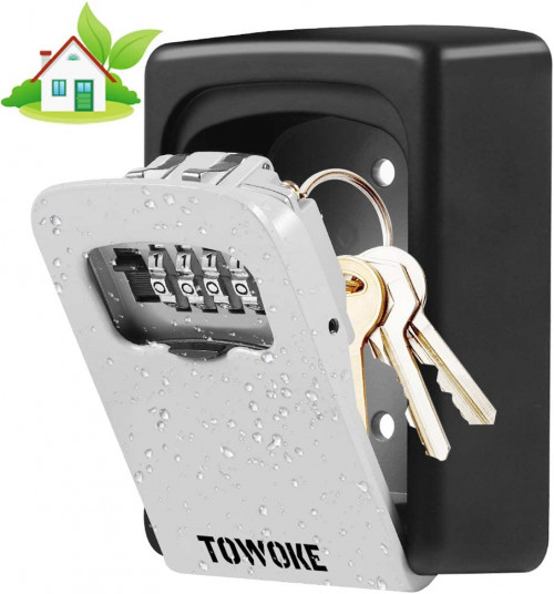 10. Key Lock Box Wall Mount