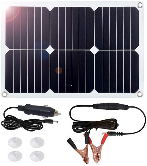 10. MEGSUN Solar Car Power Battery Charger