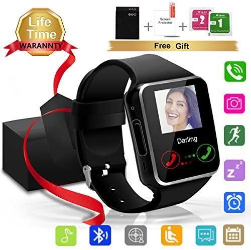 10. Topflye Bluetooth SmartWatch with SIM Card Slot