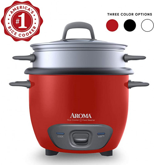 11. Aroma Housewares Pot Style Rice Cooker
