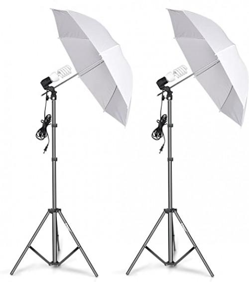 11. Emart Photography Umbrella Lighting Kit