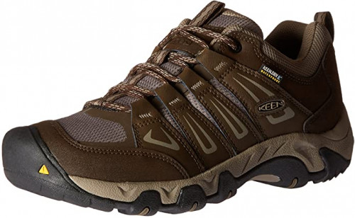 11. KEEN Men's Oakridge Waterproof Shoe