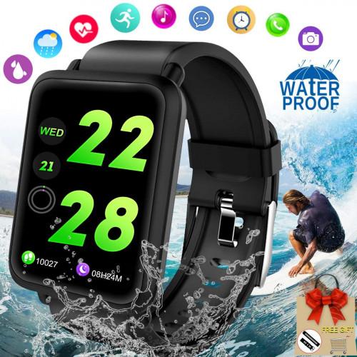 12. Allstarry-Y Fitness Tracker Waterproof Smartwatch (ASIN: B07SQYXJZJ)