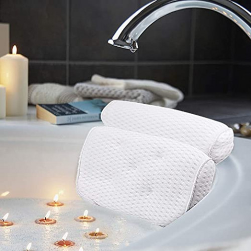 12. AmazeFan Bath Pillow