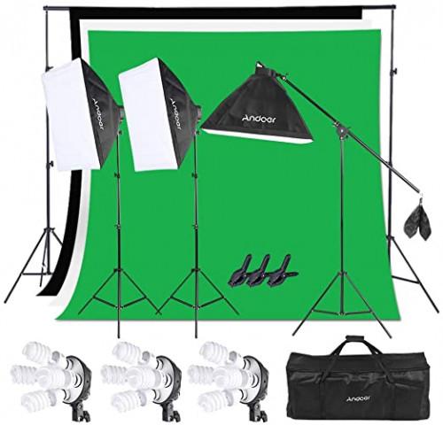 12. Andoert Photography Studio Lighting Kit