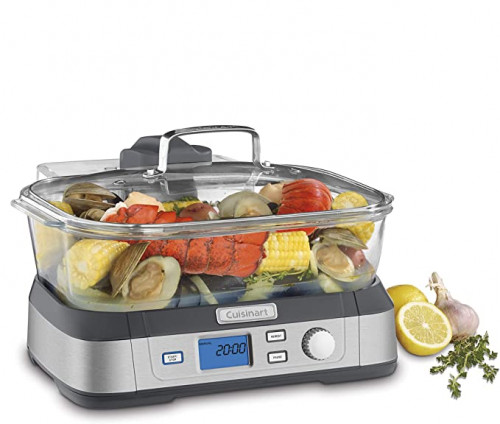12. Cuisinart Digital Glass Steamer
