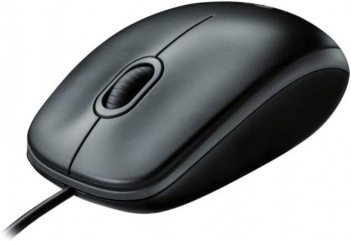 12. Logitech B100 Corded Mouse