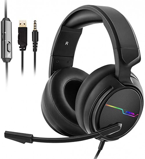 13 Jeecoo Stereo Gaming Headset for PS4