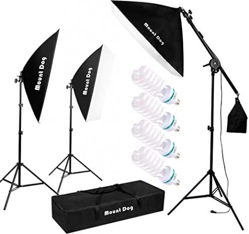 13. MOUNTDOG 1350W Photography Lighting Kit