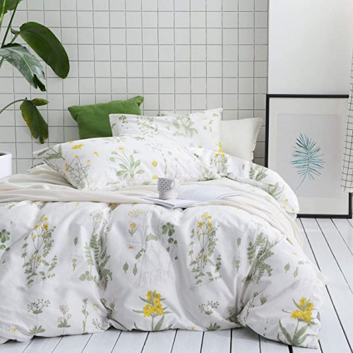13. Wake In Cloud - Botanical Comforter Set