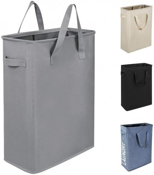 14. Chrislley 45L Slim Laundry Hamper