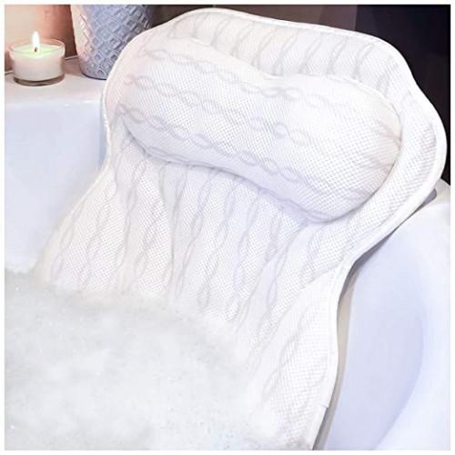 14. KANDOONA Luxury Bath Pillow Bathtub Pillow