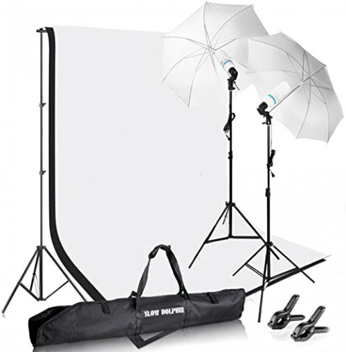 14. Slow Dolphin Photography Background Stand Support Kit