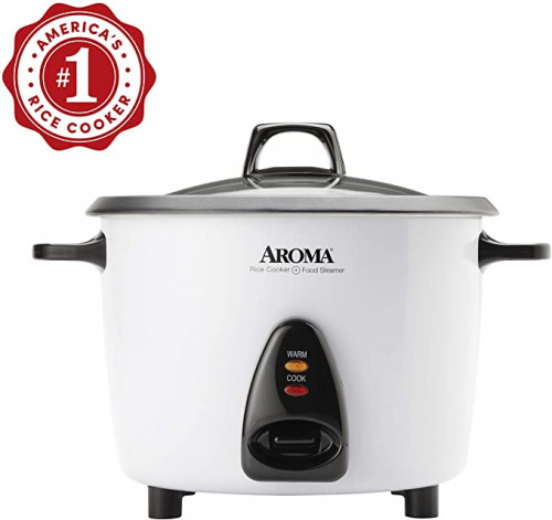 15. Aroma Housewares Cup Pot-Style Rice Cooker
