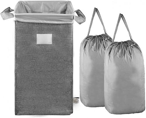 15. MCleanPin Large Laundry Hamper