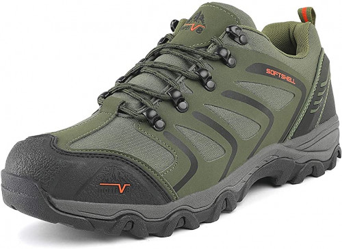 15. NORTIV 8 Men's Low Top Waterproof Hiking Boots Outdoor Lightweight Shoes Backpacking Trekking Trails