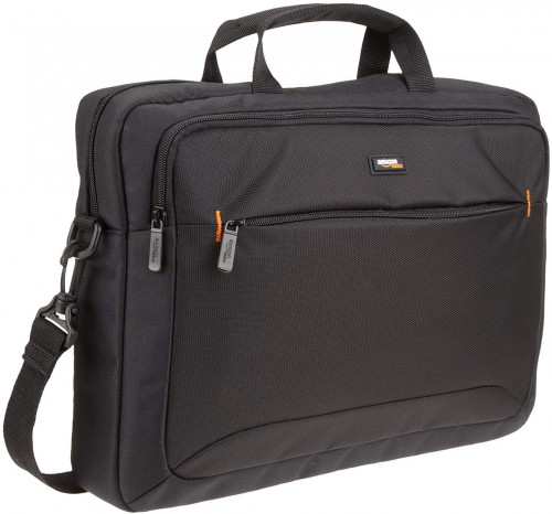 2. AmazonBasics 15.6-Inch Laptop Computer and Tablet Shoulder Bag Carrying Case