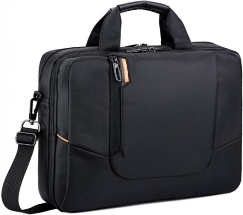 2. BRINCH 15.6 inch Black Soft Nylon Laptop Computer Case