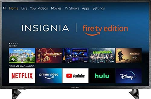 2. Insignia NS-43DF710NA19 43-inch 4K Ultra HD Smart LED TV HDR - Fire TV Edition