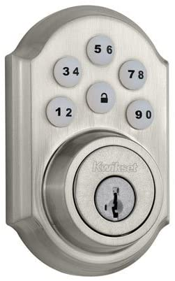 2. Kwikset 909 SmartCode Electronic Deadbolt