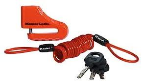 2. Master Lock Disc Brake Lock