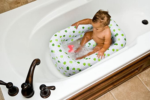 2. Mommy's Helper Inflatable Bath Tub