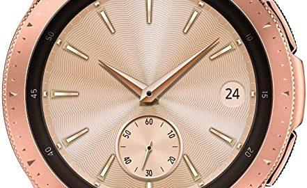 2. Samsung Galaxy Watch smartwatch (42mm, GPS, Bluetooth, WiFi) – Rose Gold