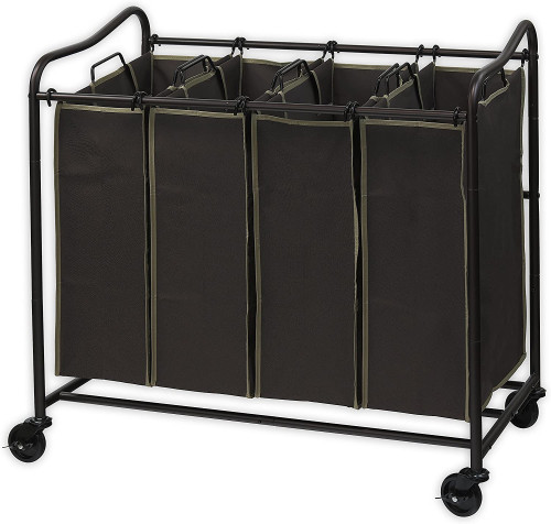 2. Simplehouseware Heavy Duty Laundry Sorter