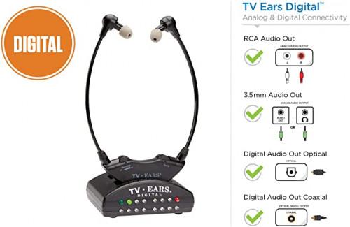 2. TV Ears Digital Wireless Headset System