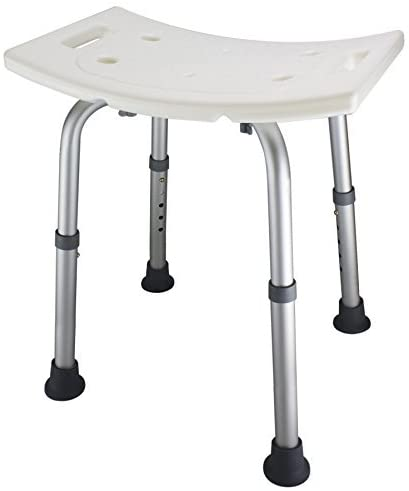 3 Ez2care Adjustable Lightweight Shower Bench