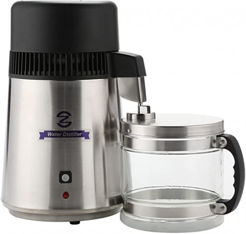 3. CO-Z 110V Brushed Stainless Steel Water Distiller