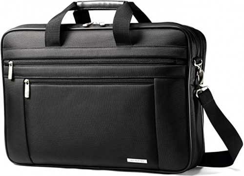 3. Classic Multi Gusset Toploader Briefcase