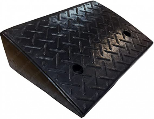 """3. Electriduct 5.2"""" Heavy Duty Rubber Curb Ramp"""