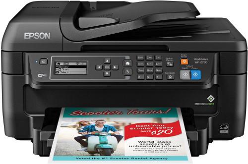 3. Epson WF-2750 Wireless Colour Printer