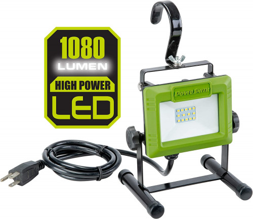 3. PowerSmith PWL1105 1080 Lumen LED Work Light