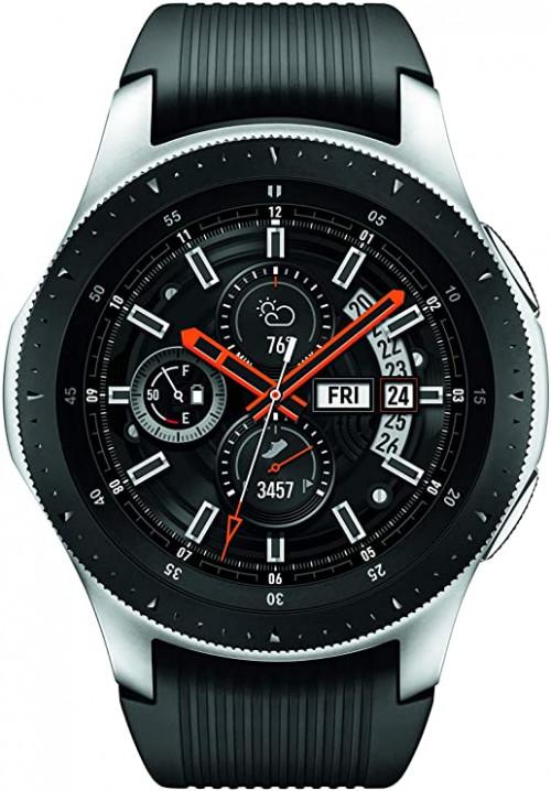 3. Samsung Galaxy Watch Smartwatch (46mm, GPS, Bluetooth, WiFi)