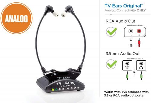 3. TV Ears Original Wireless Headsets System