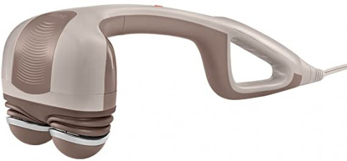 3.HoMedics Percussion Heat Action Muscle Kneading Handheld Massager for Neck