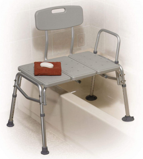 folding shower chair for transfering