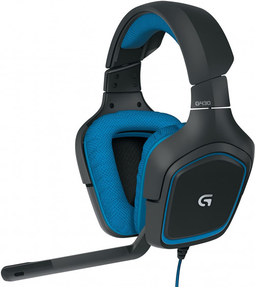 4 Logitech 981-000536 G430 7.1 Gaming Headset with Mic