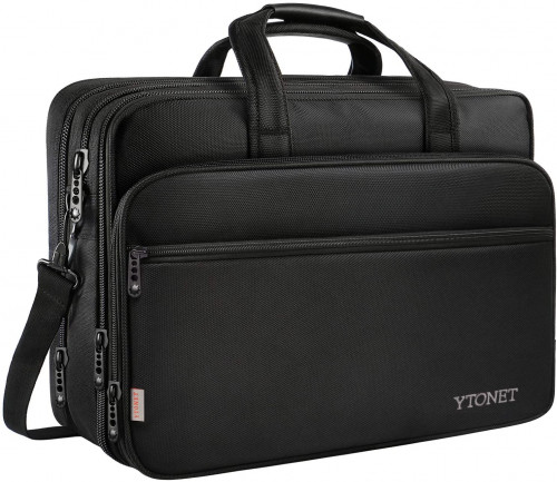 4. 17-inch Laptop Bag, Travel Briefcase with Organizer