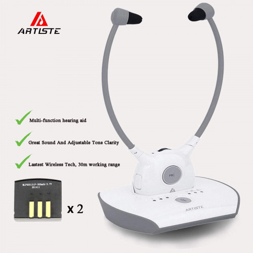 4. ARTISTE Wireless Hearing Aid Headset System