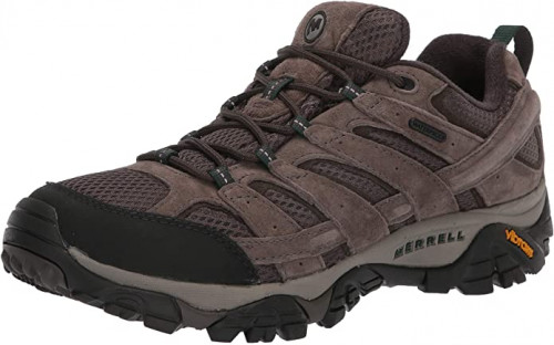 4. Merrell Men's Moab 2 Waterproof Hiking Shoe